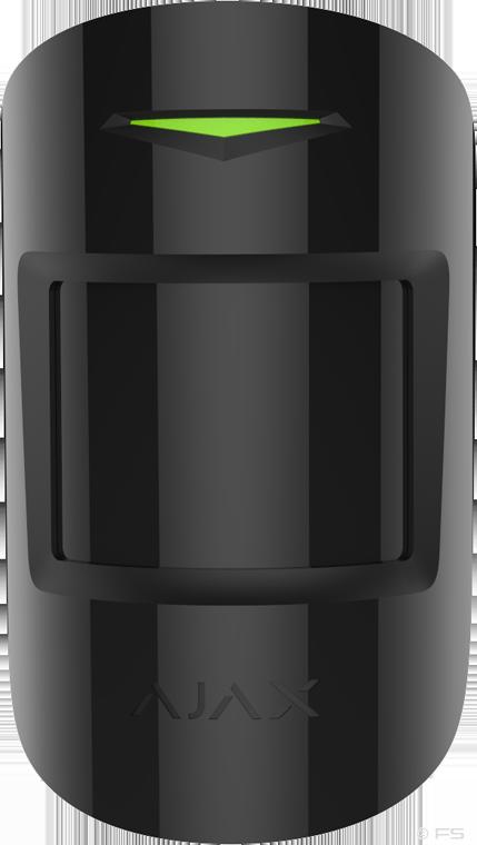 Bewegungsmelder Plus - schwarz