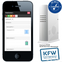 FC20 FineControl - WLAN / GSM Funk Alarmanlage EN 50131/2