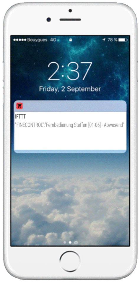 Fernbedienung RC3 - App