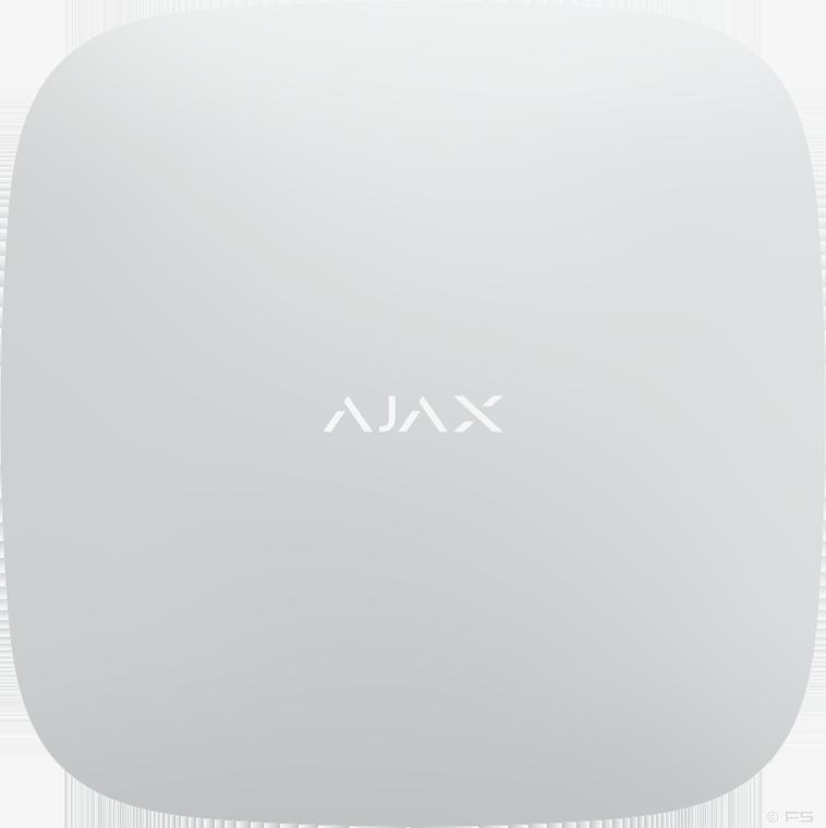AJAX Hub Plus Alarmzentrale (Weiss)