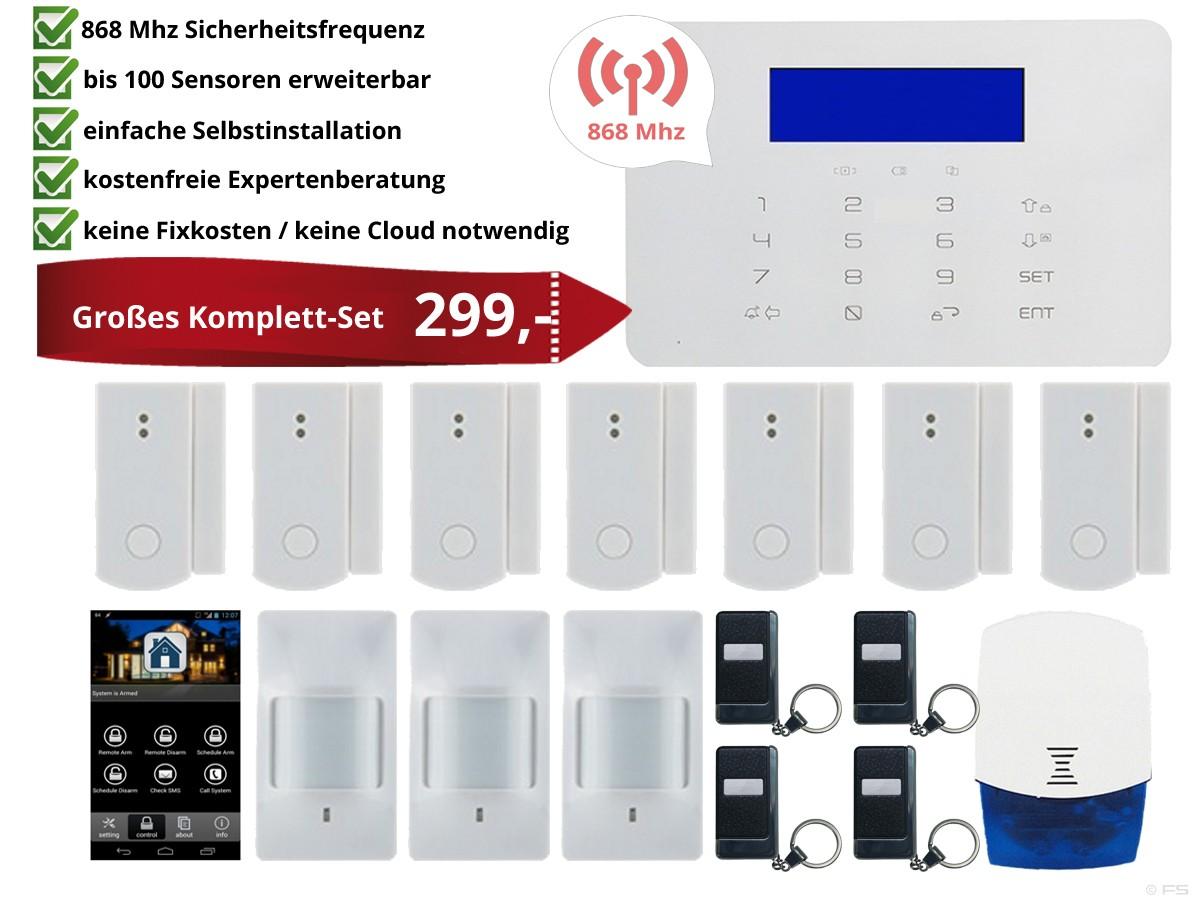 Funk Alarmzentralen Set - HG0082