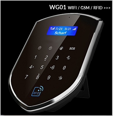 Wolf Guard WIFI GSM RFID
