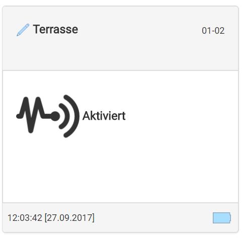 Vibrations-Sensor - App