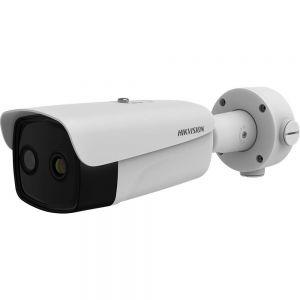 HIKVISION DS-2TD2637B-10/P LAN IP Wärmebild-/Überwachungskamera Thermal Bi-Spektralkamera mit Temperaturüberwachung 2688 x 1520 Pixel / Fieber Screening