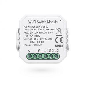 SmartLife Lichtschalter Modul zweifach