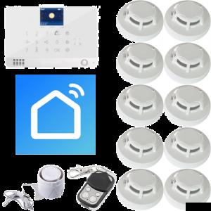 Funk Brandmeldeanlage Wifi SmartLife - RFID