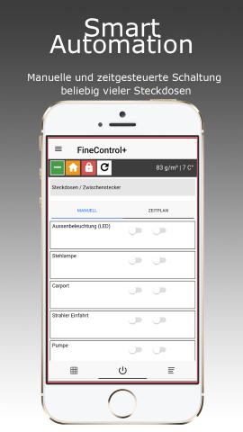 FineControl+ - kostenfreie App